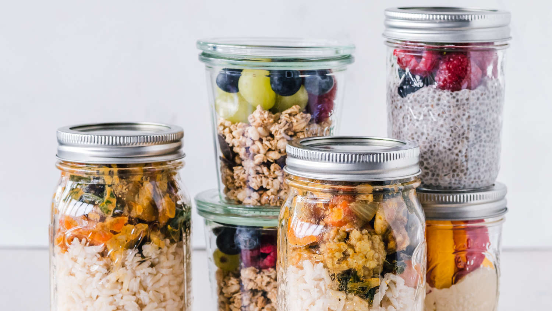 non plastic food storage