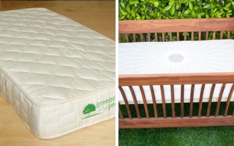 Green Cradle baby mattress