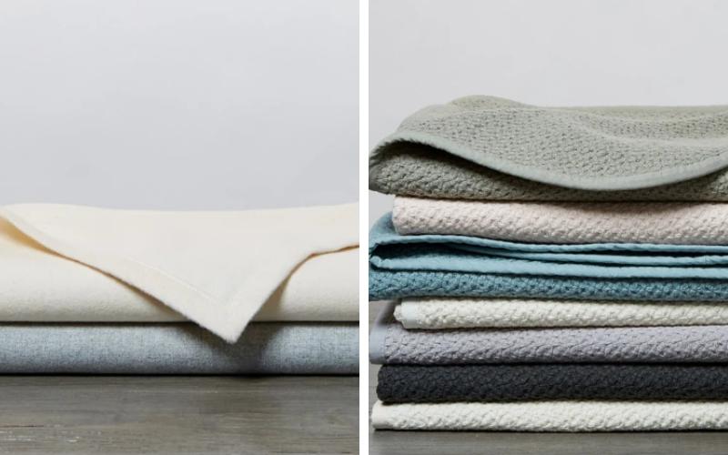 Coyuchi organic blankets