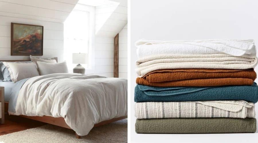Coyuchi organic luxury bedding