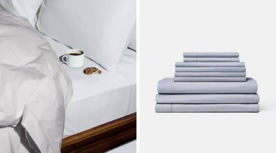 Snowe organic linen bedding
